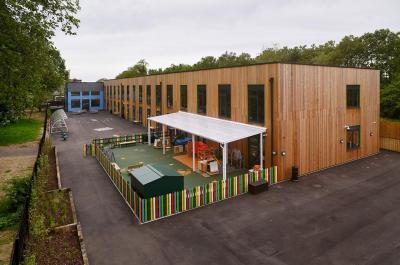 Newcastle Monpitch Shelter - Ark Byron Academy - Broxap