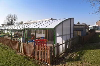 Long Lawford Primary School Covered Playground, Rugby, Warwickshire