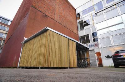 Timber Cycle Shelter at LCB Depot - Broxap