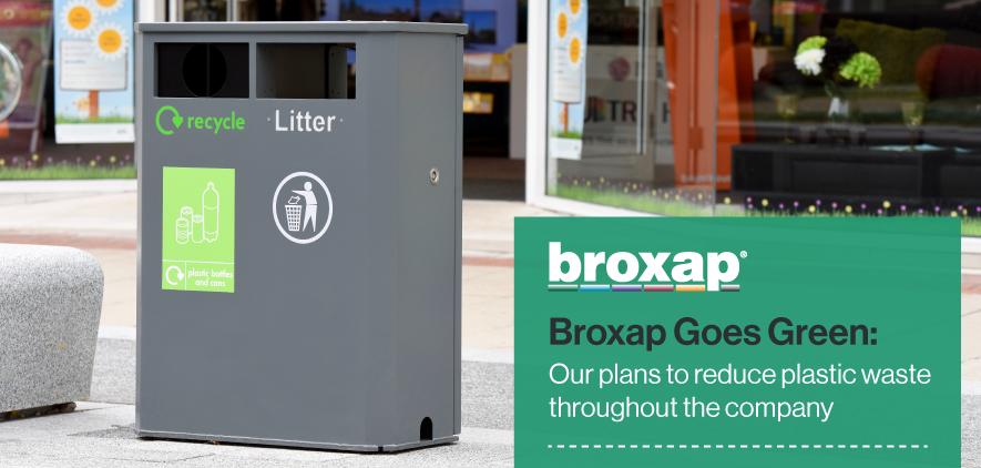 Broxap Goes Green | Reducing Plastics | Broxap
