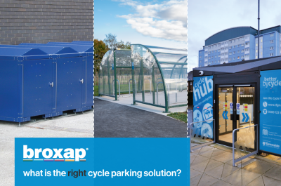 Shelter, locker, compound or hub – what is the right cycle parking solution?