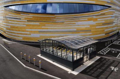 Cycle Hub at Derby Arena - Broxap