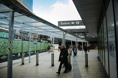 Euston Station Cycle Parking and Construction Work Walkway | Broxap