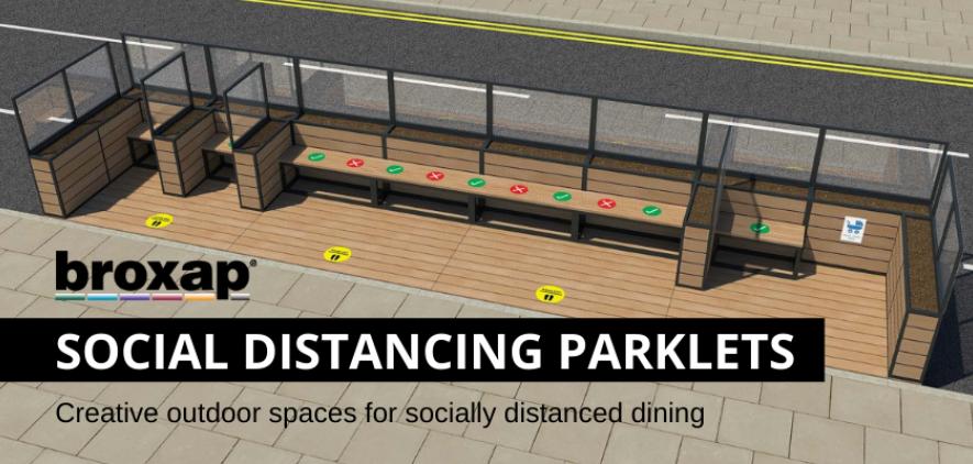 Social Distancing Parklets