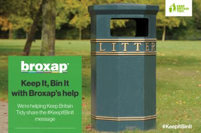#KeepItBinIt with Broxap's Help!