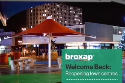 Create a welcoming town centre with Broxap
