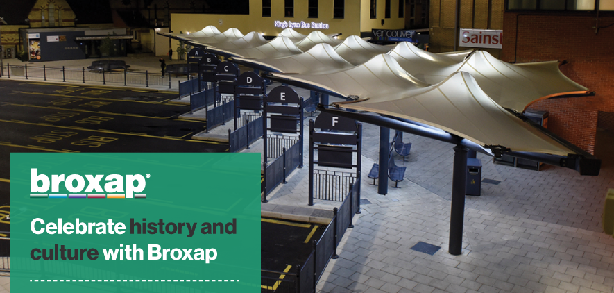 Celebrate history and culture with Broxap