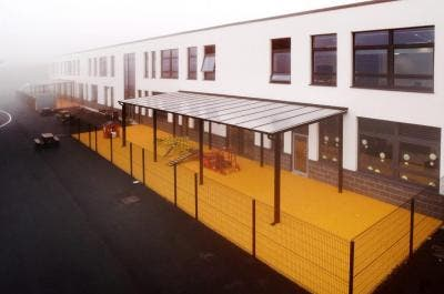 Mayfield School Campus Covered Playground Areas, Whitehaven   Broxap