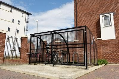 Meynell Heights   Broxap Case Studies   Cycle Parking