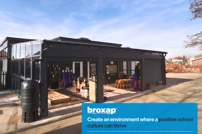 How Broxap creates an environment where a positive school culture can thrive