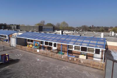 Reynalds Cross School Outdoor Classrooms, Solihull, West Midlands   Broxap