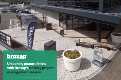 Unlocking peace of mind with Broxap's turnkey project management service
