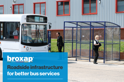 Roadside infrastructure for better bus services