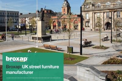 Broxap: UK street furniture manufacturer
