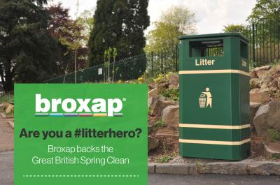 Broxap backs the Great British Spring Clean