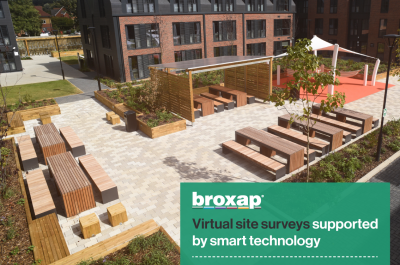 Broxap holds virtual site surveys supported by smart technology