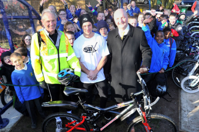 Cycle Shelter at St Peter's Primary School Leicester - Broxap