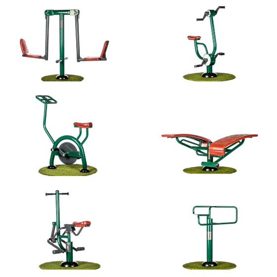 Secondary School Outdoor Exercise Package | Outdoor Gym Equipment