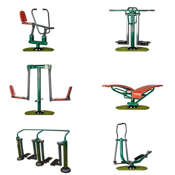Academy Ultimate Fitness Package | Sunshine Gym | Outdoor Gym Equipment