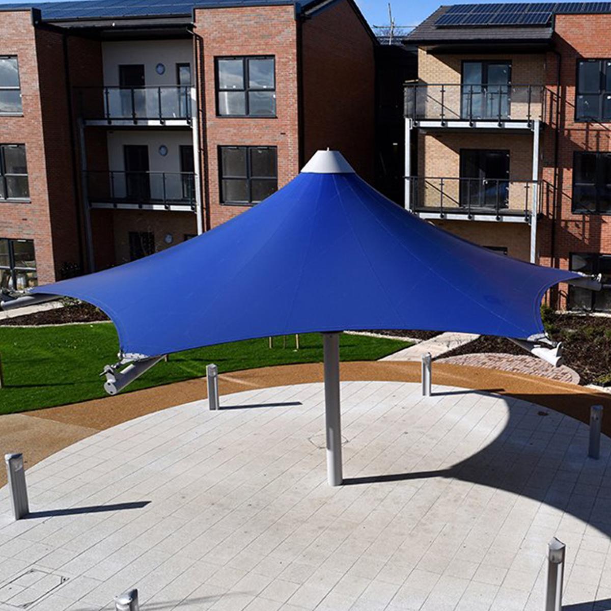 Hexagonal Conic Canopy