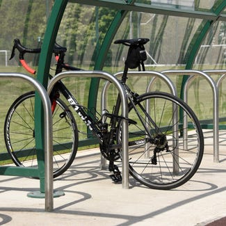 Sheffield Cycle Stand – Stainless Steel Root Fixed
