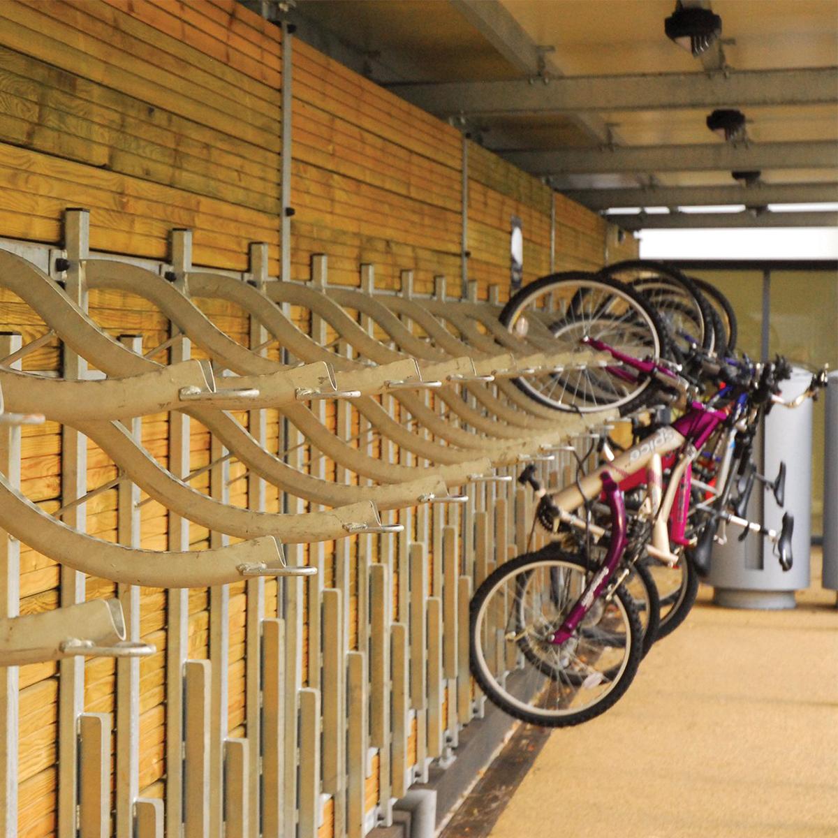 Thames Bridge Cycle Stand