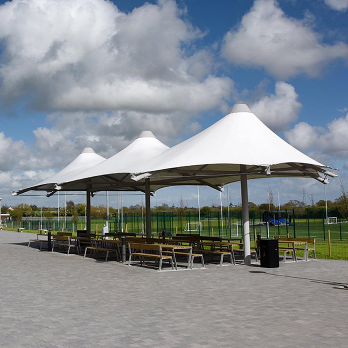 Triple Conic Canopy