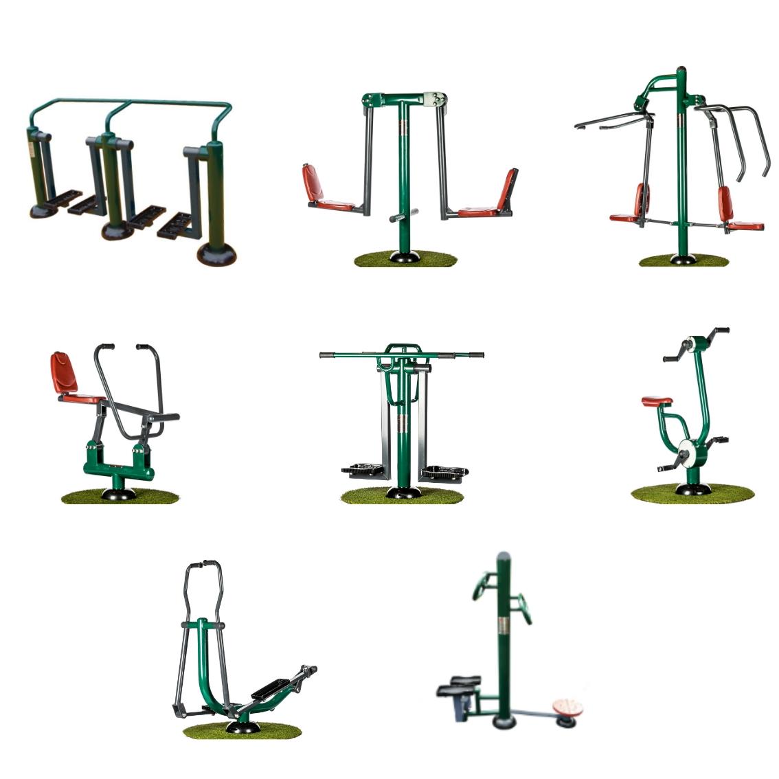 Community Fitness Suite | Outdoor Gym Equipment | Sunshine Gym