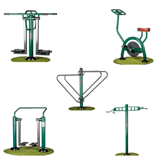 Functional Fitness Package   Sunshine Gym   Outdoor Gym Equipment