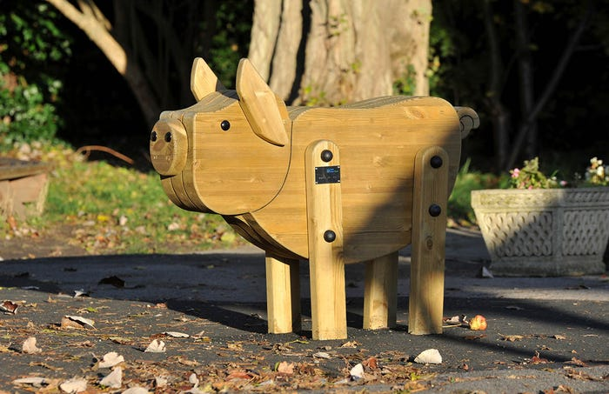 Hog Play Sculpture