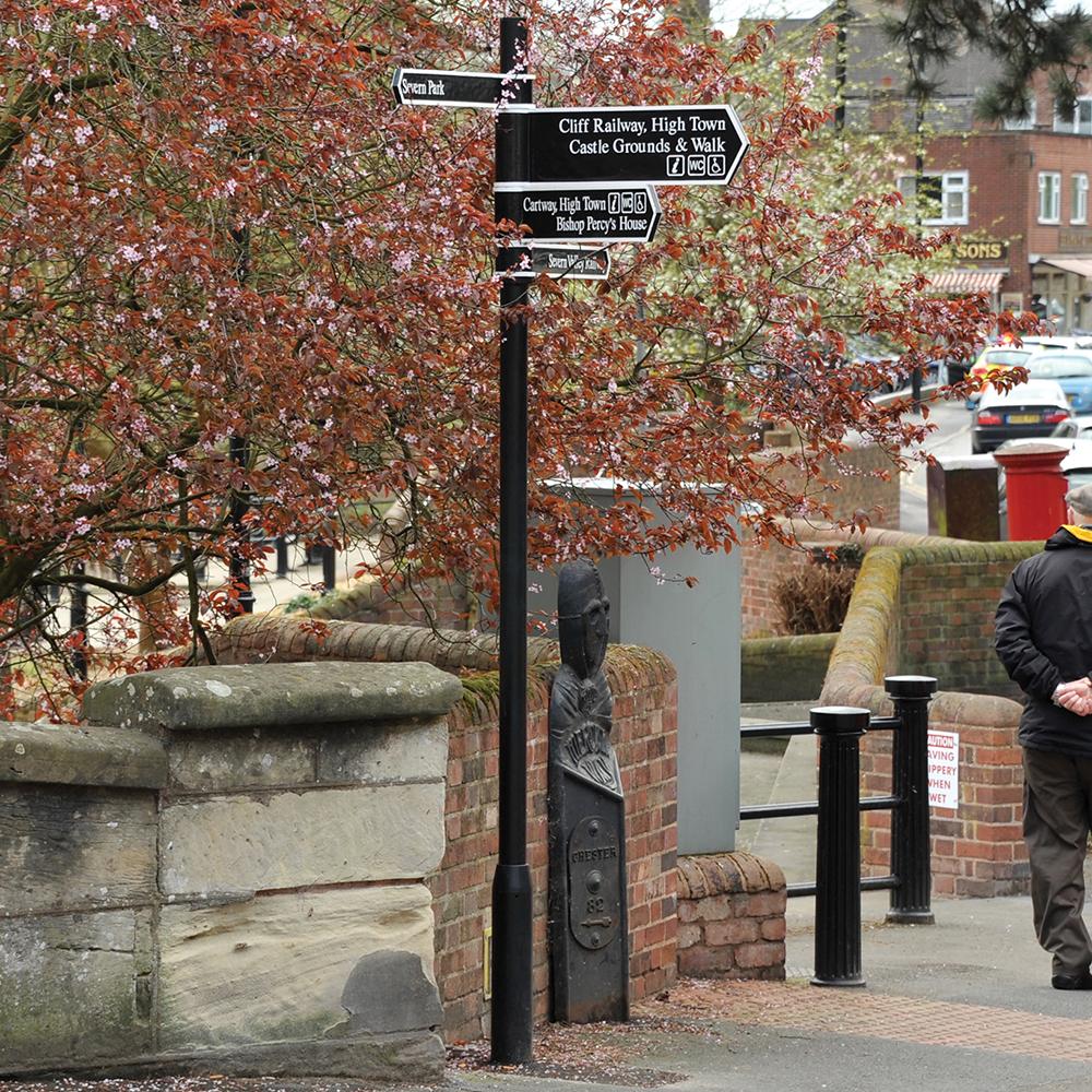 Woking Signage Column