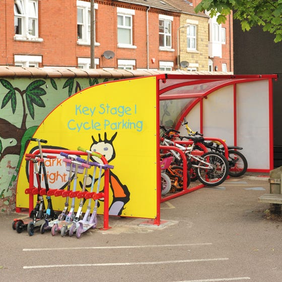 Wardale® Junior Cycle Shelter