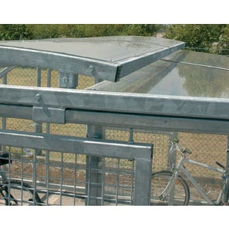 Compound Cycle Shelter Roof