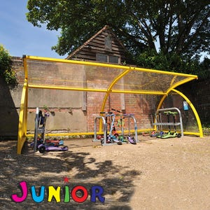New Sheffield Junior Cycle Shelter