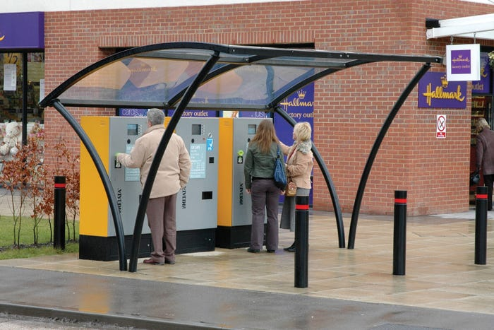 Apollo Pay and Display Shelter