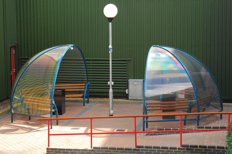 Smoke Dome Smoking & Vaping Shelter