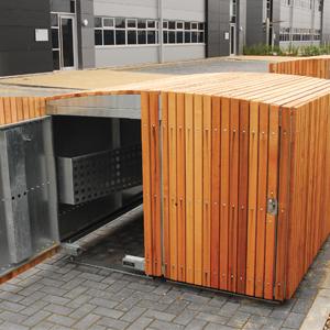 Cedar Cycle Locker