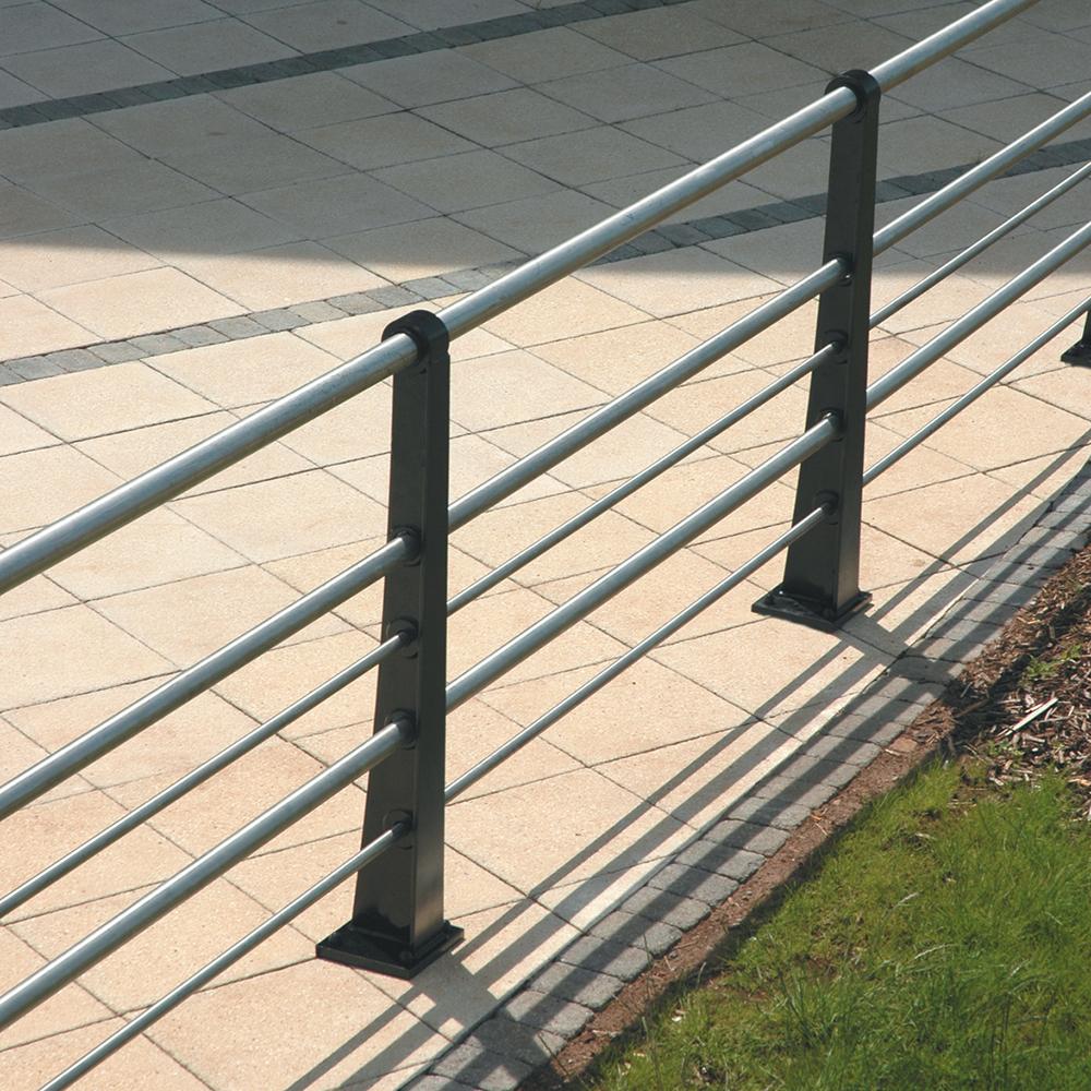 Quayside Straight Ductile Iron 5 Rail
