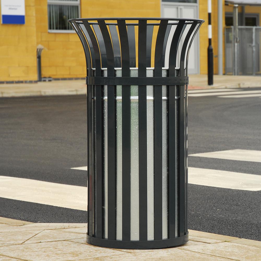 Weyburn Open Top Litter Bin