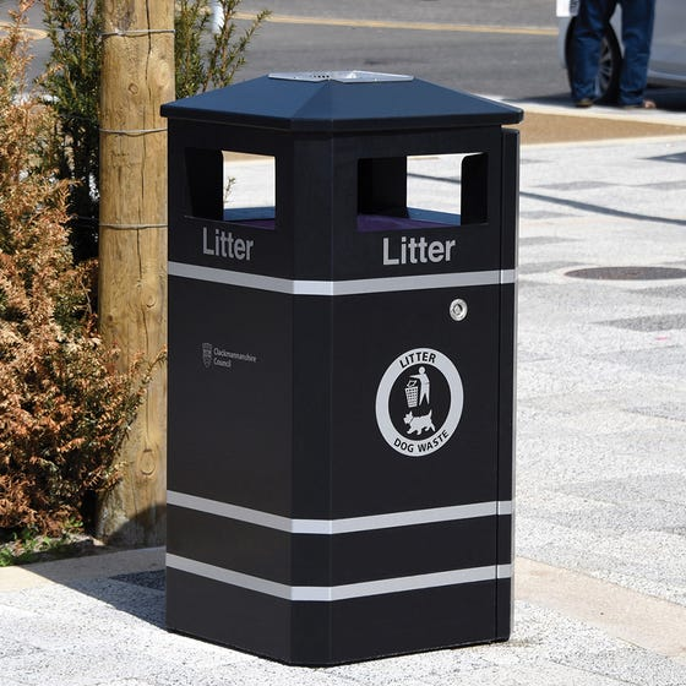 Derby Standard Litter Bin