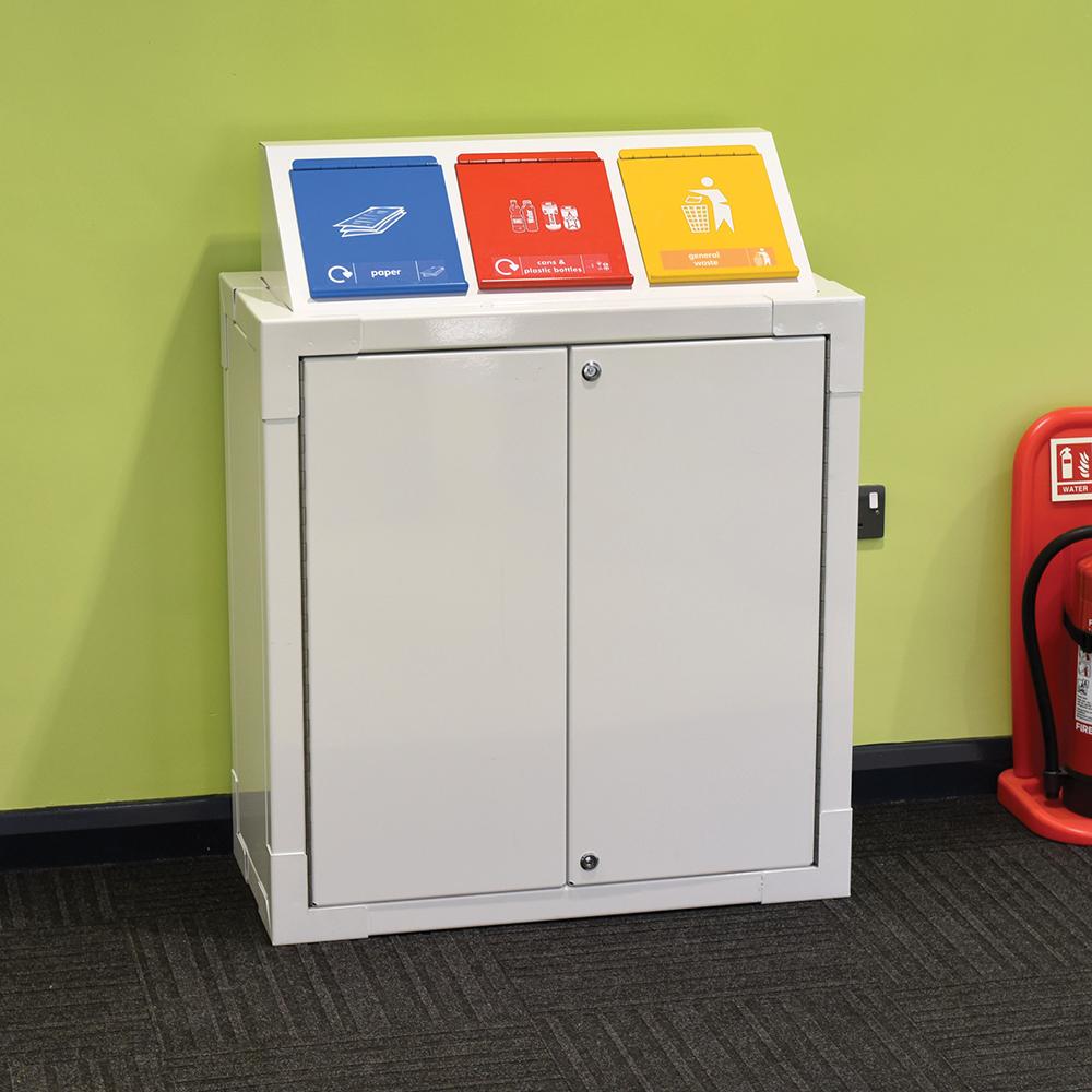 Office Spacesaver Recycling Bin