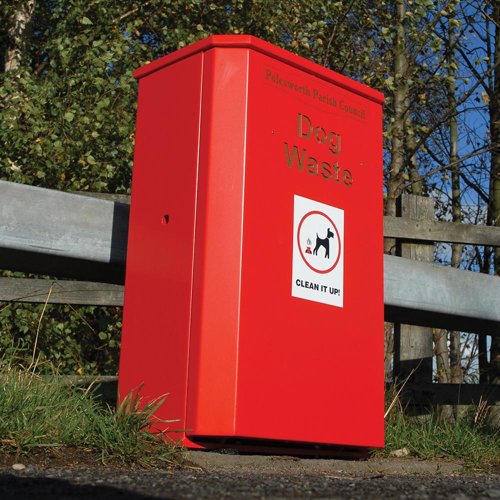 Derby Ruddington Dog Waste Bin