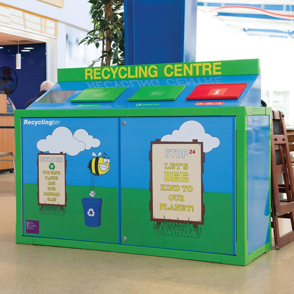 SEPR8™ Recycling Bin