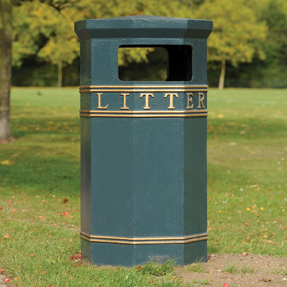 Westminster Canopied Litter Bin