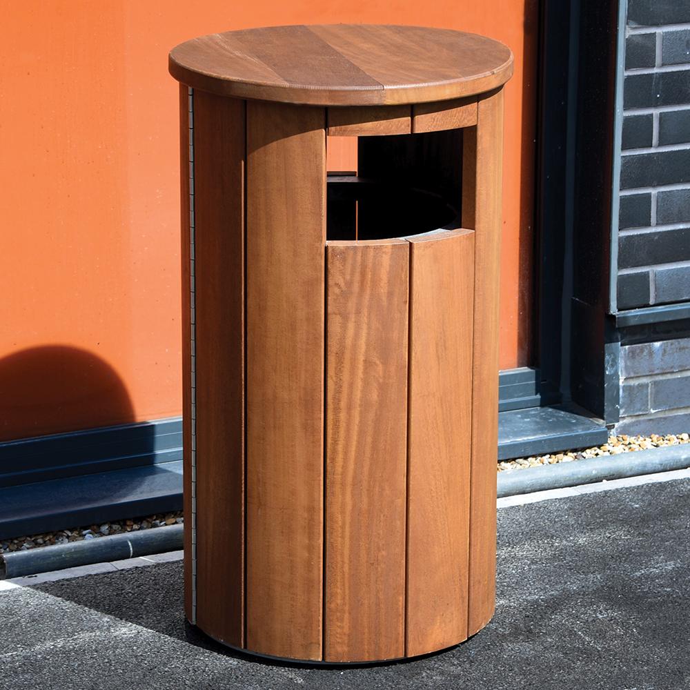 Winchester Canopied Litter Bin