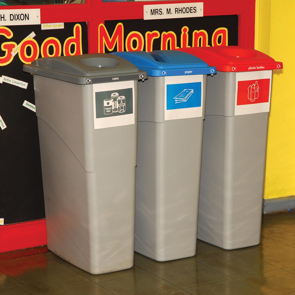 Greywell Plastic Internal Recycling Bin