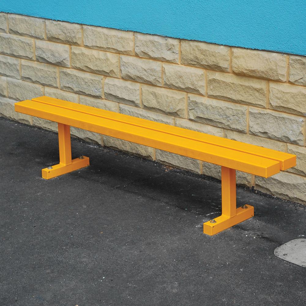 Rainbow Steel Bench