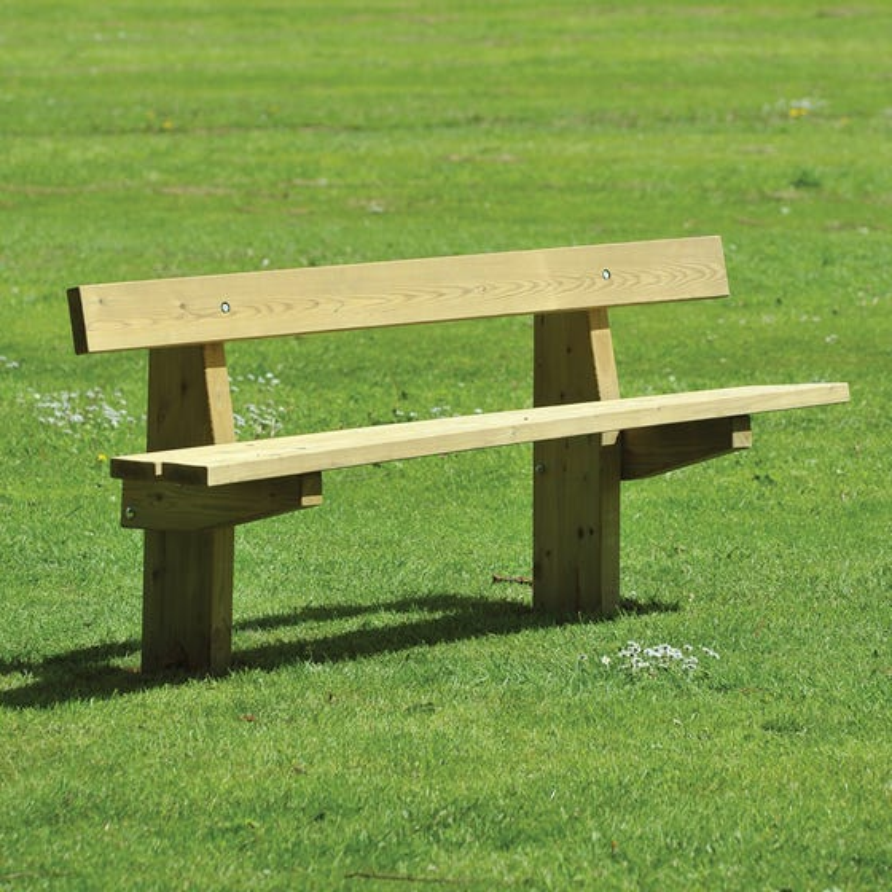 Edale Rustic 3 Slat Seat