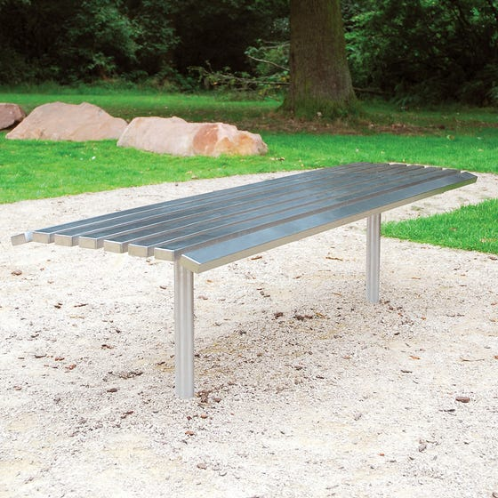 Hopetoun Bench - Stainless Steel