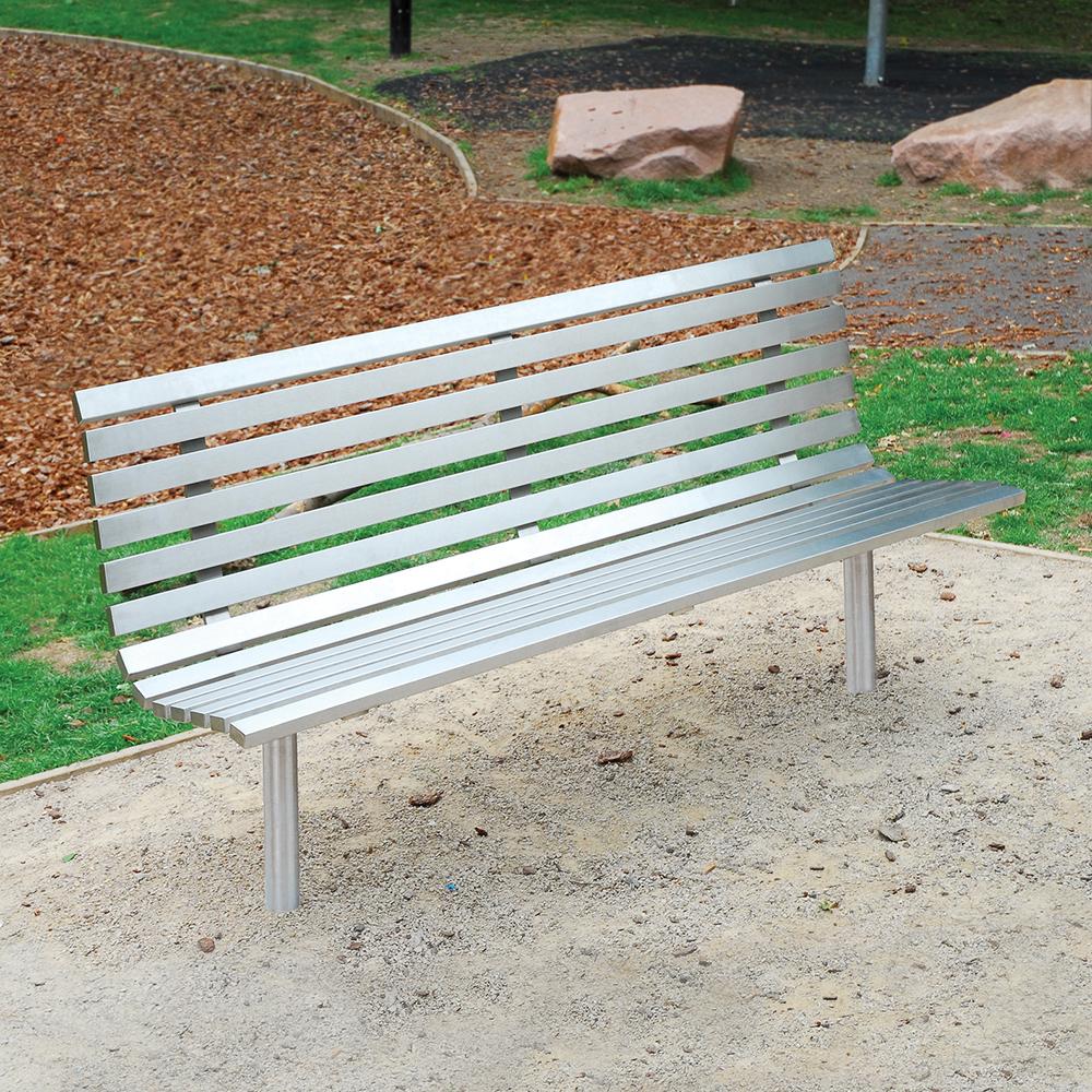 Hopetoun Seat - Stainless Steel